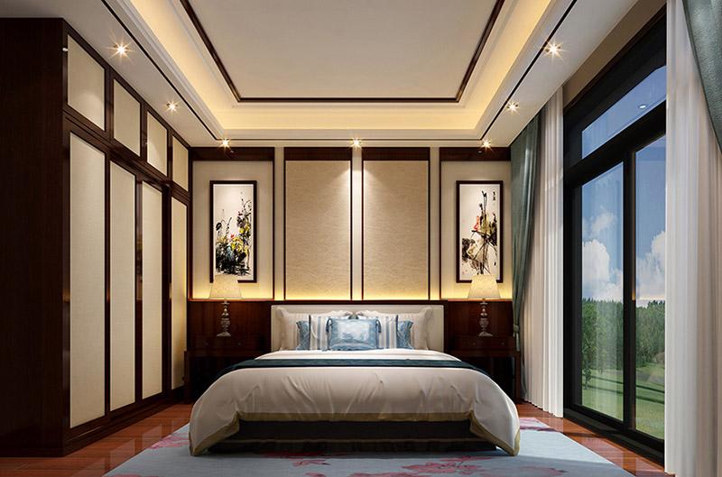 【卧室三】 ↑↑↑中式家居之中儿童房的设计更具有古典气息和书卷味