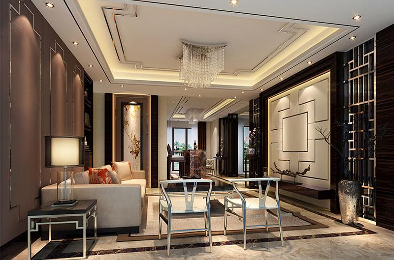 新中式风格 清远中汇园样板房