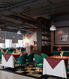 餐厅茶室设计 • 广州中大轻纺城